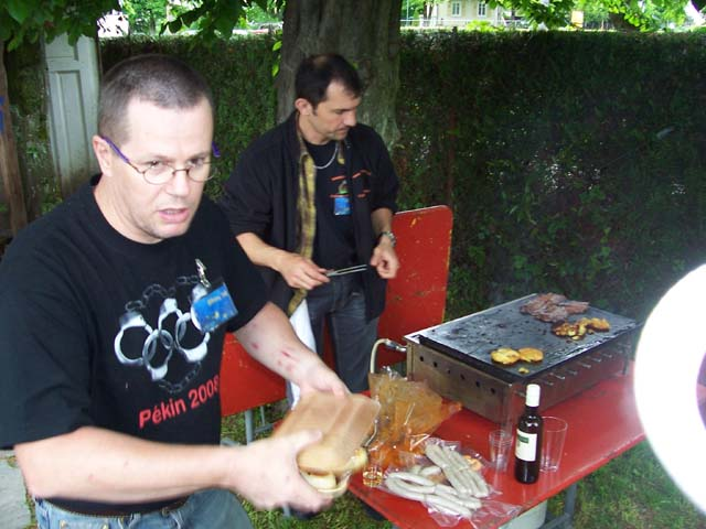 Rush au barbecue